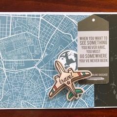 Airplane Travel Card