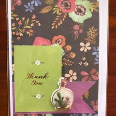Thank You; Cacti Terrarium