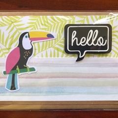 Hello Tucan Card