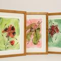 Gum Blossoms Fine Art Print - A4 - Australian Native - Unframed
