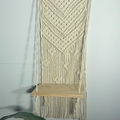 Macrame 'Chevron' Shelf