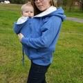 Babywearing jackets/hoodie