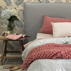 Chunky Merino Wool Blanket