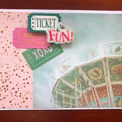 Ticket to Fun, Carnival Card