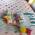 Fun by an Ice-Cream Cart, Carnival Card