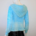 jumper hoodie, merino fashion knitwear
