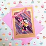 'Hey, birthday girl' Pink Card