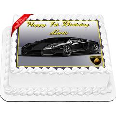 Lamborghini Cake Topper