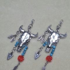 "Boot Jewellery - ""Bohemian Steer"""