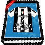 Juventus Jersey Cake Topper