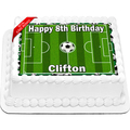 Soccer Field Cake Topper