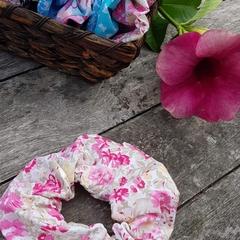 Pretty in pink Mega Scrunchy.