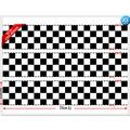 Checkered Flag Cake Strips