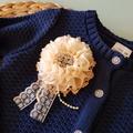 Girls Blingy Navy Cardigan Size 2 & 4