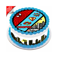 Batman City Skyline Cake Strips