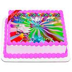 Roller Disco Cake Topper