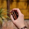 Personalised Single Tone Card Wallet Bespoke