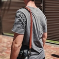 Personalised Adjustable Leather Camera Strap