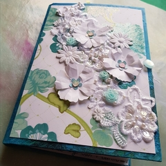 Butterfly Blue:  Handmade Junk Journal
