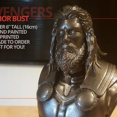 Avengers Endgame Thor - long hair OR short hair