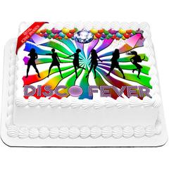 Disco Cake Topper