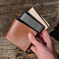 Personalised Kangaroo Leather Full-sized Wallet