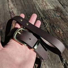Personalised Matching Leather Small Dog Collar and Lead
