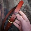 Personalised Leather Belt Full Grain Multiple Colour Options