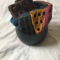 Scarf handmade crochet in a Windowpane pattern