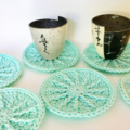 Drink coasters set of 6 perfect as a gift idea
