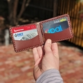 Personalised Kangaroo Leather Full-sized Wallet