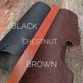 """Personalised Leather Dog Collar w/ name patch """"Drover's"""""""