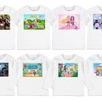 Personalised Shirt Size 0-7 Organic Cotton, Great Stocking Filler, Group 1