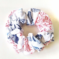 Scrunchie / WHITE - beach