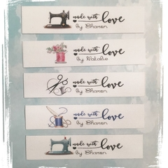 Sewing Tags - Premade Logo - Various Designs