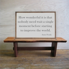 How wonderful it is