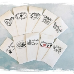 Sewing Tags Fabric Labels - Premade Logo