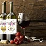Wine Label (set 2) Self Adhesive - Boho Will You Be My Bridesmaid