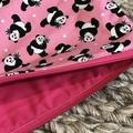 Pink pandas pencil case