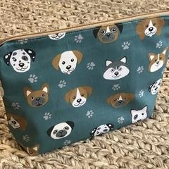 Dogs toiletries bag