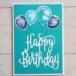 Happy Birthday Balloons - Jade