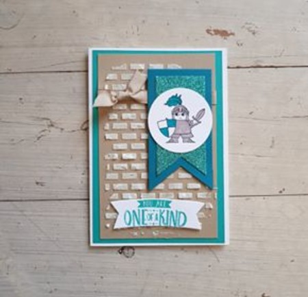 Knight 'One of a Kind' Birthday Card