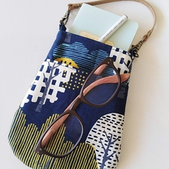 Bag organizer - NAVY - Forest Tree