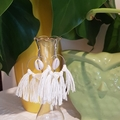 Bridal tassel earrings