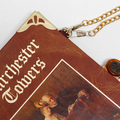 Barchester Towers Novel Bag - Anthony Trollope - Bag made from a book