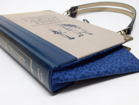 Oliver Twist Novel Bag - Charles Dickens - Bag made from a book