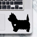 West Highland Terrier Dog Sticker - Laptop Decal - Westie