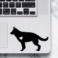 German Shepherd Sticker - Laptop Decal