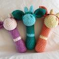 BABY RATTLE  - Giraffe Rattle