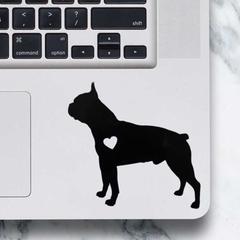 Boston Terrier Dog Sticker - Laptop Decal